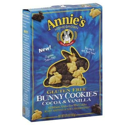 ANNIES HOMEGROWN COOKIE GF BUNNY COCOA&VNL-6.75 OZ -Pack of 12