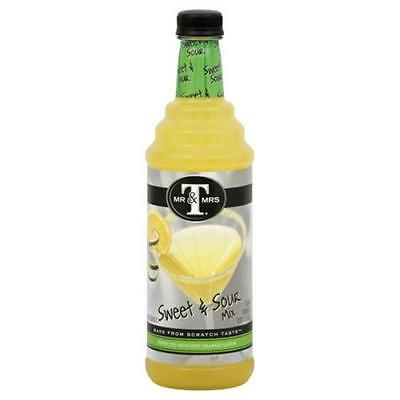 MR & MRS T MIXER SWEET SOUR-33.8 FO -Pack of 6