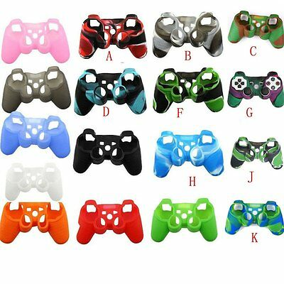 New Silicone Protective Skin Case Cover for Playstation 3 PS3 Controller Gamepad