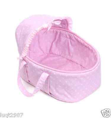 "HOT 10-11""Reborn Baby Doll Pink Cute Bed Supplies Toys Holiday Gift"
