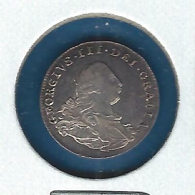 Great Britain 1800 2 pence Maundy issue Nice Uncirculated - King George III