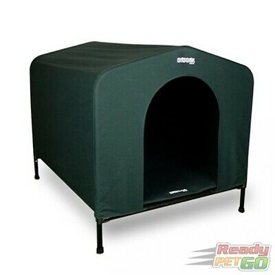 Hound House Original Canvas Dog Kennel in Green  - Extra Large