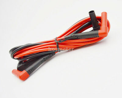 Fluke TL222 SureGrip Silicone Insulated Test Leads, Right Angle