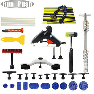 Dent Hail Slide Hammer PDR Paintless Removal Puller Line Board Repair CAR Tools