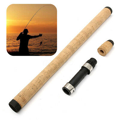 Fishing Rod Handle Cork + Spinning Grip + Reel Seat for DIY Building or Repair