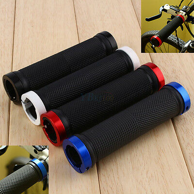 Soft BMX MTB Cycling Mountain Bicycle Bike Cycle Handle Bar Rubber End Grip New