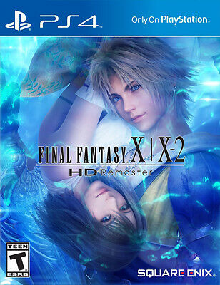 Final Fantasy X / X-2 HD Remaster PS4 Game Brand New (English, Spanish, French)