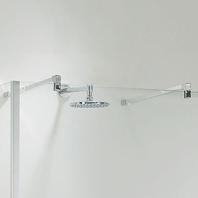 Single Shower Wall Support Arm (Adjustable:100mm - 1000mm)