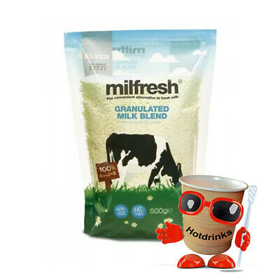 Milfresh Silver Milk Granules, Granulated Vending Ingredients for Tea & Coffee