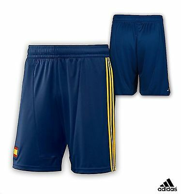 Adidas Spain Official Football Shorts Kit Woven Short Mens Youths Size Small S