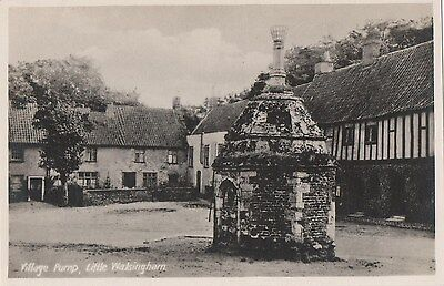 POSTCARD  NORFOLK  WALSINGHAM  Village Pump