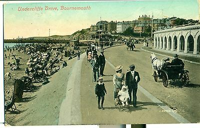 POSTCARD BOURNEMOUTH Undercliffe Drive