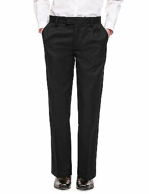 Boys School Trousers Pleated Front School Uniform Trouser