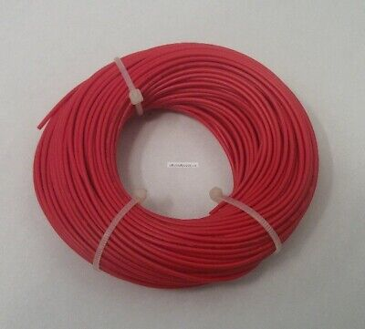 22 AWG tinned copper stranded hook up wire, 100 feet RED UL1007