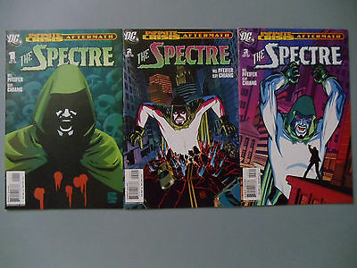 Lot of 3 comics Infinite Crisis Aftermath: The Spectre #1-3 DC Pfeifer Chiang