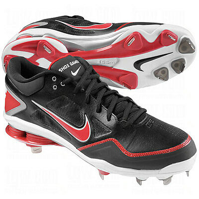 best service 3fc91 5f63a ... NIKE Shox Zoom Gamer SIZE 15 MENS METAL BASEBALL CLEATS SHOES 467984  061 .