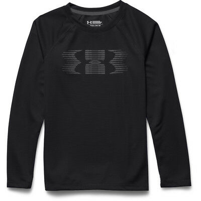 Boy's Under Armour Waffle Thermal Crew