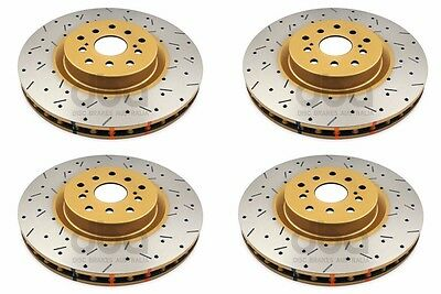 42650XS-10 for 2003-08 Subaru DBA Brake Rotor Front Slotted Rotor 4000 Series