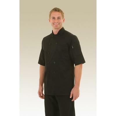 Chef Works Chambery Chef Coat Jacket - Black - All Sizes