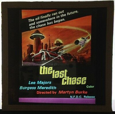 "The Last Chase (1981) 3"" x 3"" glass slide"