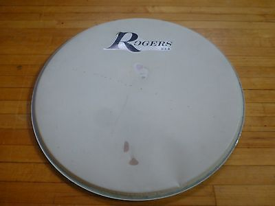 "Vintage 1970's Rogers 20"" Coated Bass Drum Head"