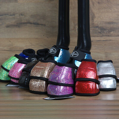 Professional Choice Secure Fit Horse No Turn Bell Boot Glitter All Sizes & Color