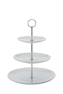 NEW Maxwell & Williams Cashmere 3 Tier Cake Stand, Gift Boxed