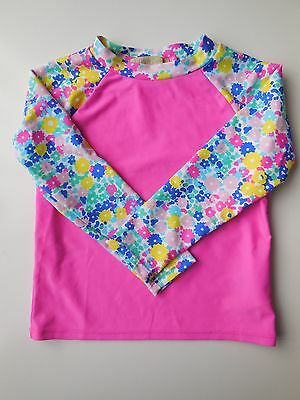 Baby Toddler Girl Rash Top Bathers Swimwear Size 3 *new