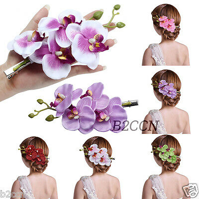 Fashion Women Girl Hair Clip Flower Hairpin Bridal Hawaii Party Hair Accessories