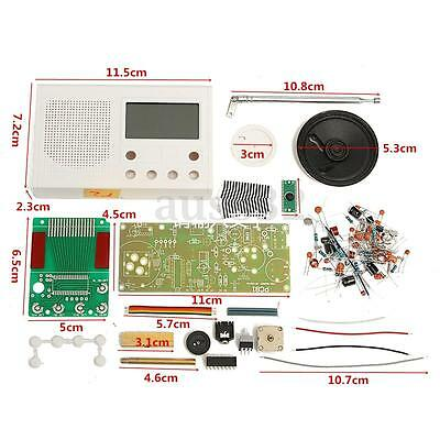 DIY FM Radio Kit Electronic Learning Basic Suite Frequency range: 72-108.6MHz