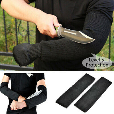 1 Pair Steel Wire Safety Anti-cutting Arm Sleeves Gardening Work Outdoor Camping