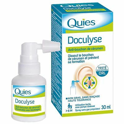 Quies  Doculyse Earwax Remover  - 3 Pack