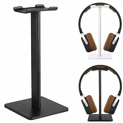 Universal Aluminum Earphone Headset Hanger Holder Headphone Desk Display Stand