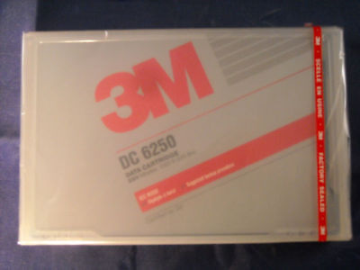 New Imation 3M Data Tape DC 6250 250MG