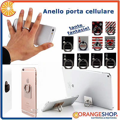 Anello porta cellulare Phone Ring Holder supporto cellulare staffa stand