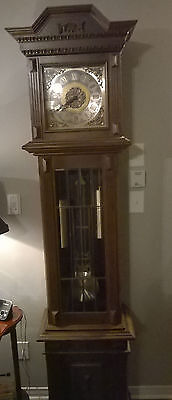 Grandfather clock from House of 1000 Clocks in Triberg, Black Forest, Germany.