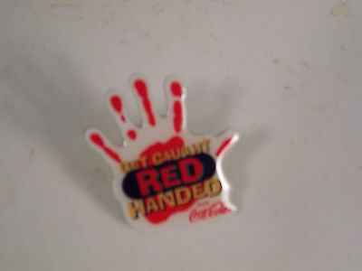 Wendy /Coca Cola / lot of 5 Get Caught Red Handed 2001 Pins