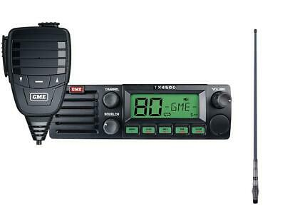 GME TX4500S UHF RADIO including GME AE4005 ANTENNA + CABLE PACK