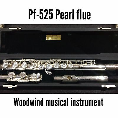 Pearl Silver Flute - Pf-525 With Case