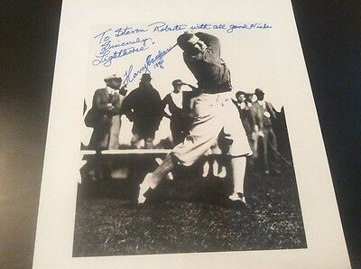 29c867fdec8 ARNOLD PALMER AUTOGRAPHED Palm Desert Greens Cap Rare In Person ...