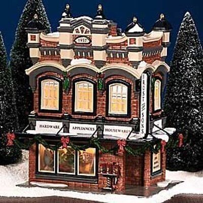 """Department 56 Snow Village """"Frost And Sons 5 & Dime"""""""