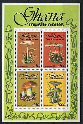 Ghana 1993 Mushrooms Fungi MS #1 MNH