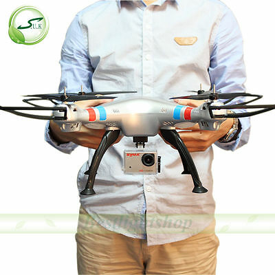 RC Quadcopter Syma X8G Drones with HD 8MP Camera Headless Mode Spare Battery