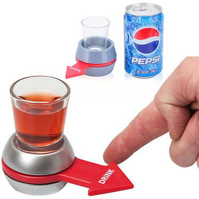Shot Spinner Drinking Game Party Bar Spin The Bottle Games Adults Novelty Gift
