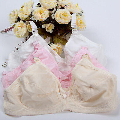 Women Adjustable Pregnant  Breastfeeding Bra Nursing Maternity Front Buckle Bra