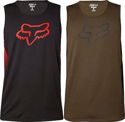 Fox Racing Mens Spawnic Performance Mesh Active Motocross Tank Top T-Shirt