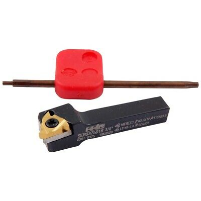 1//2 Shank HHIP 2301-2500 Internal and External Indexable Threading Tool Holder Kit