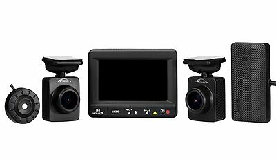 Spy Tec K1S Dual Car Dash Camera + GPS Logger | Front and Rear 1080p Remote Lens