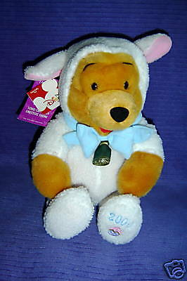 Disney Store Lamby Pooh He Makes Sounds New W/tags