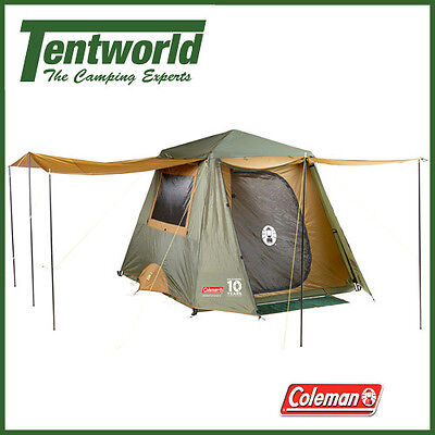 Coleman Instant Up 4 Man / Person Fast Frame Camping Tent - Gold Series